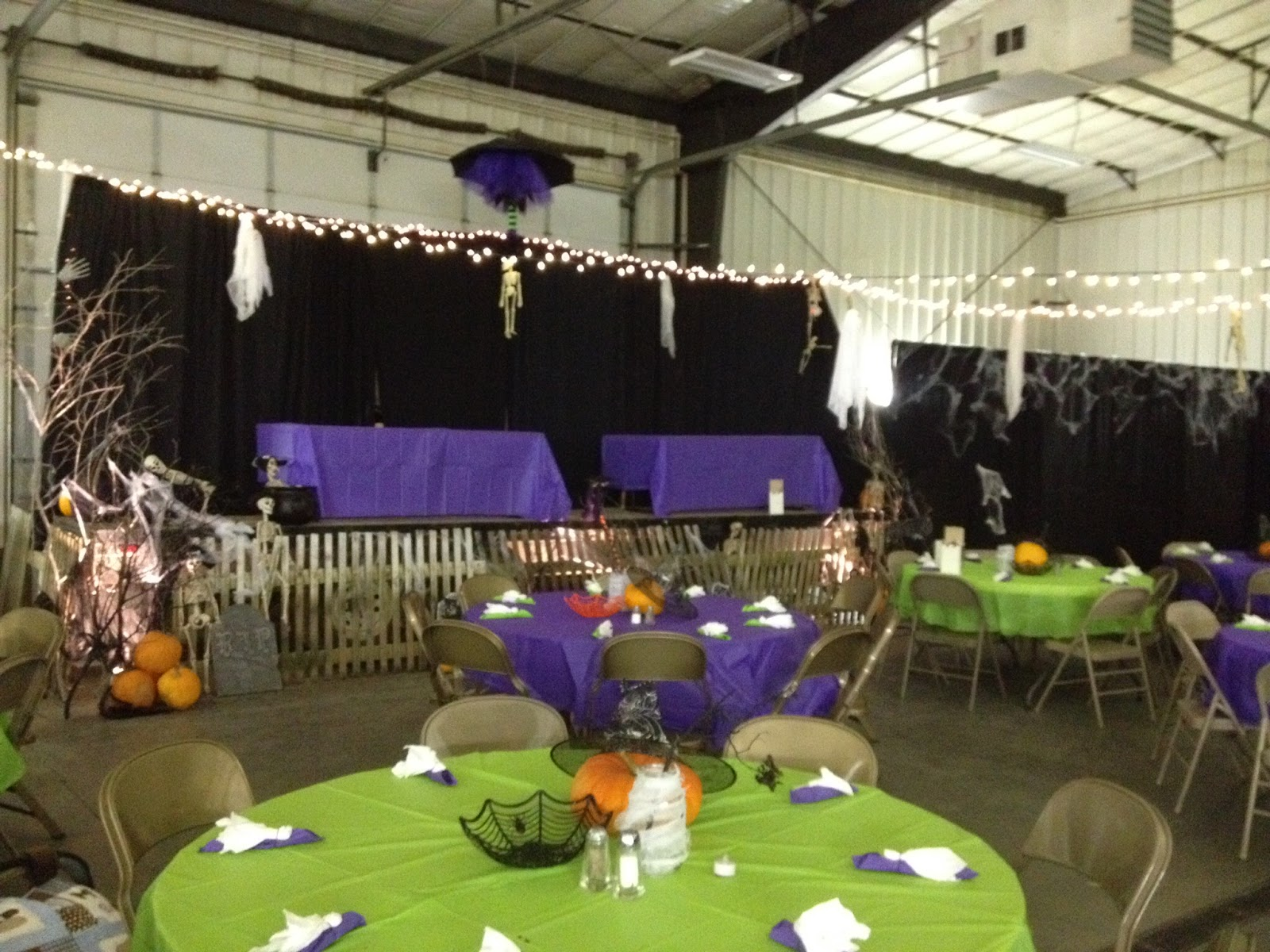 Halloween social community Party