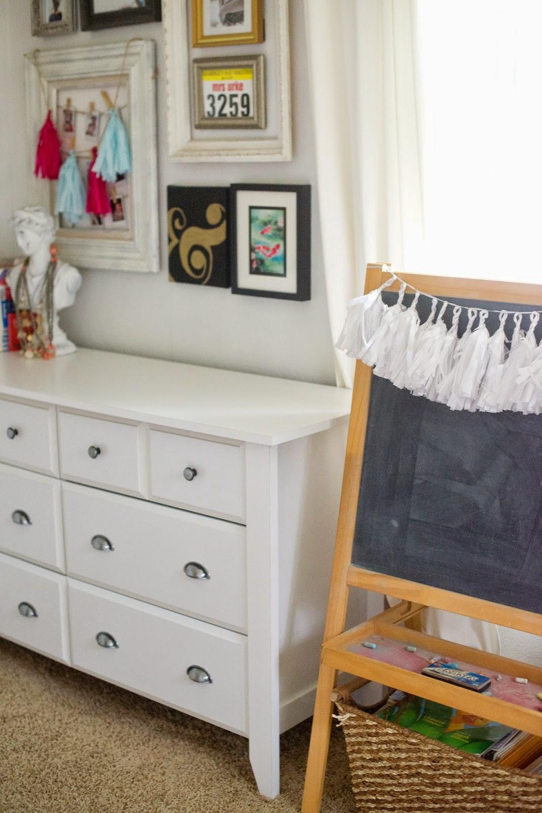Domestic Fashionista Styling a Dresser Two Ways