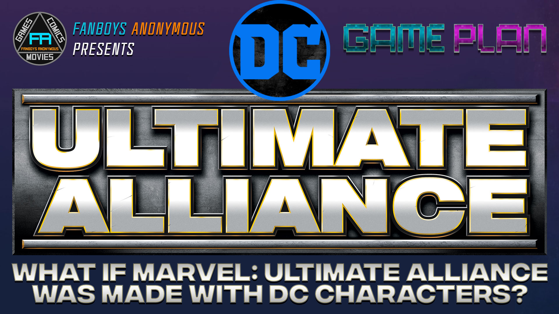 DC Ultimate Alliance game