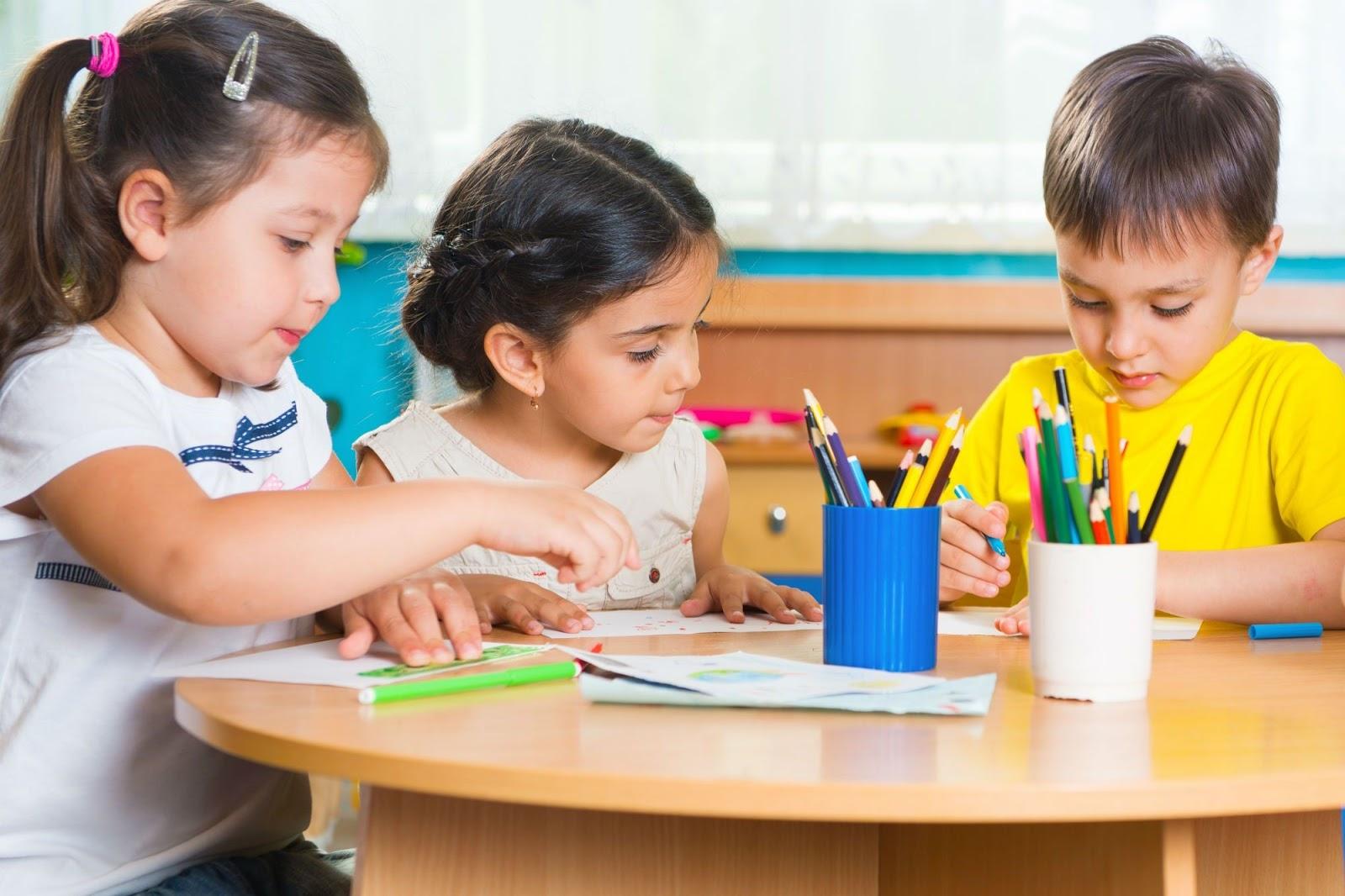 math skills kindergarten children