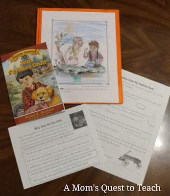 Jem Strike's Gold book cover and study guide activities