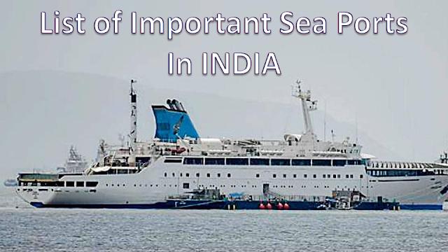 Sea Ports in India