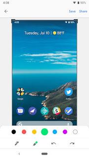 Cara Mengambil Screenshot di Android P,Ini Caranya 5