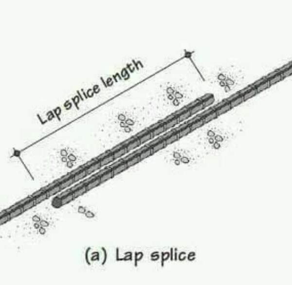وصلات بالتراكب lap splices