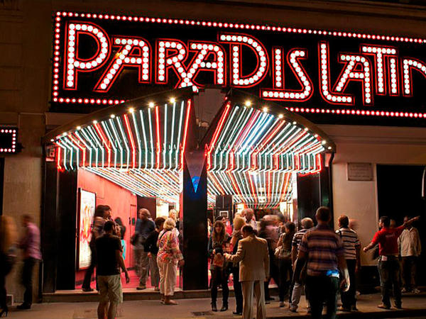 słynne kabarety w Paradis Latin
