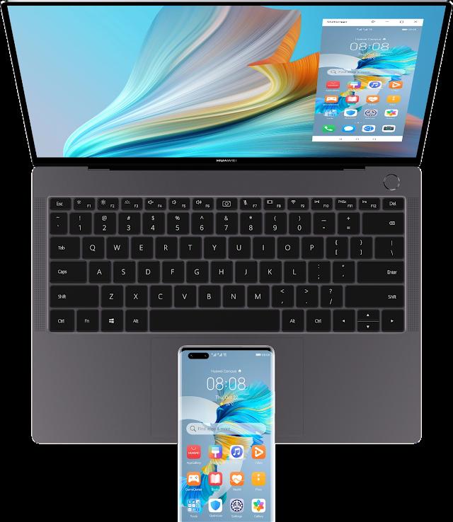 Potencia y velocidad describen  la nueva Huawei MateBook X Pro 2021