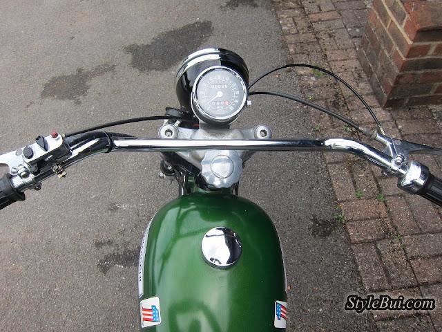 Xe cổ Harley Davidson Aermacchi Sprint H 1964 250cc