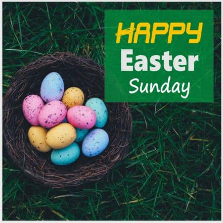 2021 Happy Easter Sunday Wishes