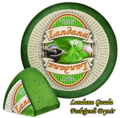 Landana Gouda Fesleğenli Yeşil Hollanda Peyniri Tadımı ve İncelemesi- Landana Groene Pesto