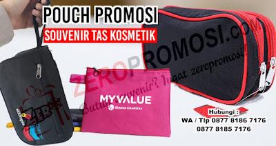 Cosmetic Pouch, Tas Kosmetik, dompet promosi, Tas Toiletries, Toiletries Pouch, Pouch Bags Wanita Murah