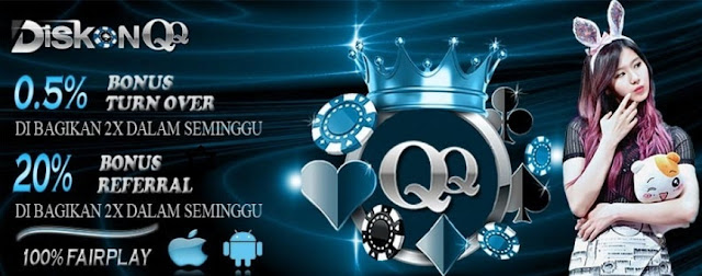 Kiudiskon.com Agen Domino QQ Online Indonesia Terpercaya
