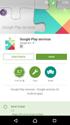 You should regularly update your installed applications from Google Play.