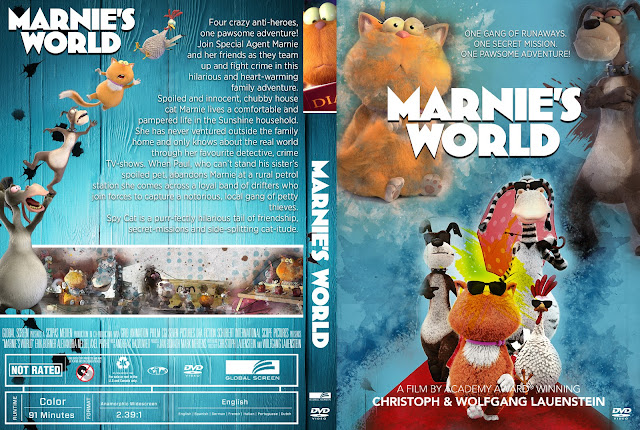 Marnie's World DVD Cover