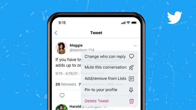 Twitter will let you change who can reply to a tweet after you post it