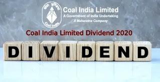 coal india dividend 2020