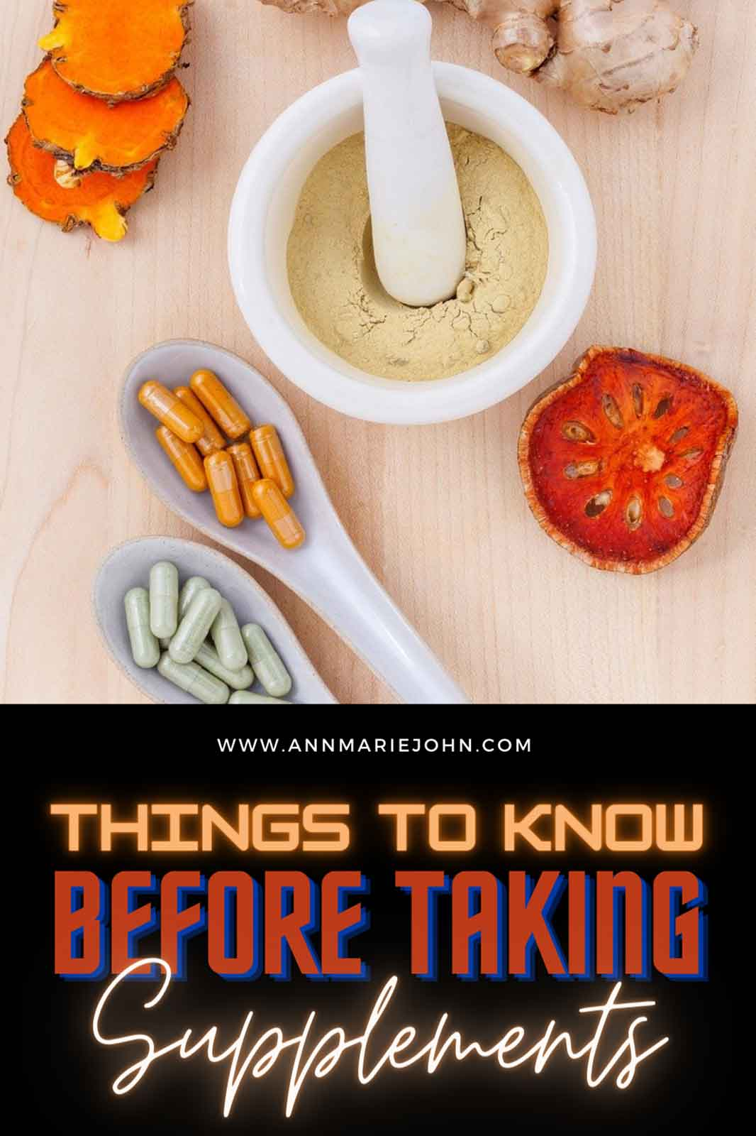 Key Things to Know Before Taking Nutritional Supplements