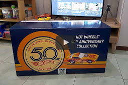Hot Wheels 50Th Anniversary Master Set - Unboxing