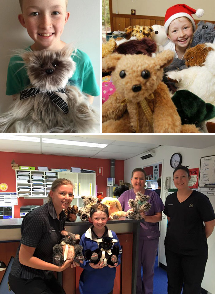 40 Times 2016 Restored Our Faith In Humanity - 12-Year-Old Boy Learns To Sew To Make Over 800 Stuffed Animals For Sick Children