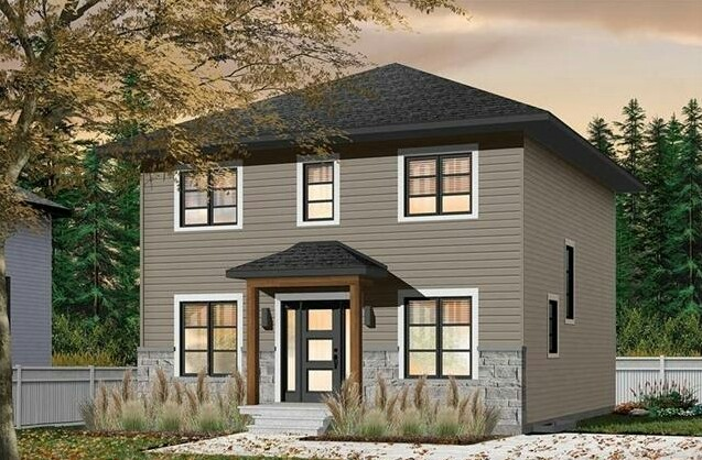 Simple Two-Story House