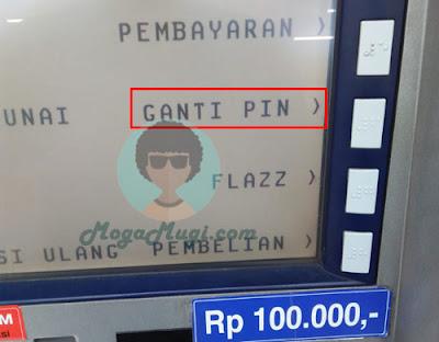 ubah pin atm bca 3