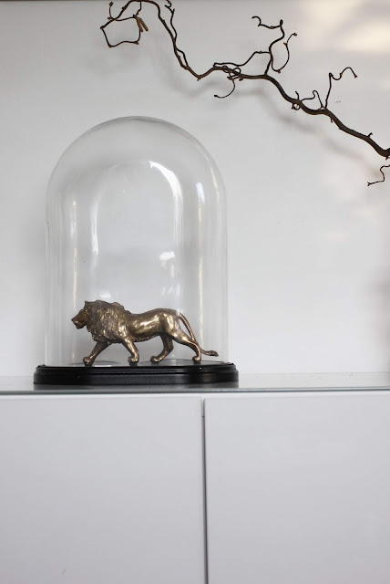annelies design, webbutik, webbutiker, webshop, nätbutik, inredning, inspiration, lejon, glaskupa, stor