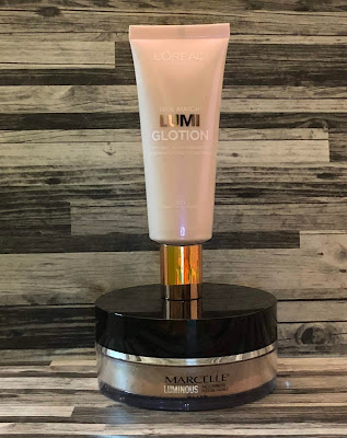 Two Face Products I've Been Loving (L'Oreal Lumi Glotion, Marcelle Luminous Face Power)
