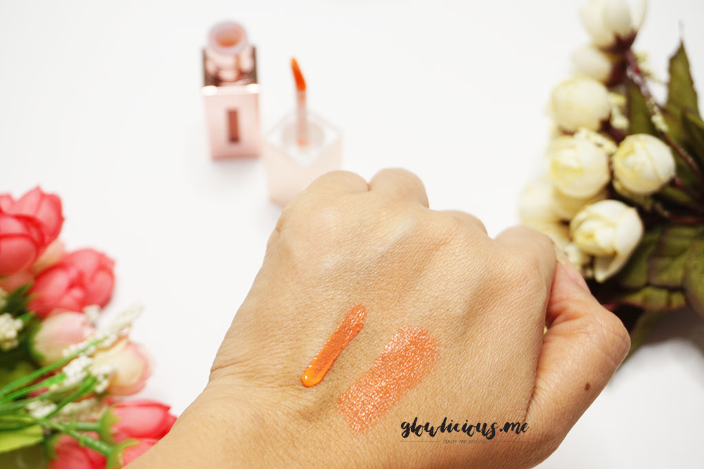 Milky Dress Barbie Make Color Pop Tint in Delight Coral