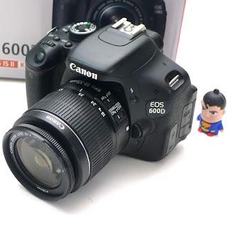 Kamera Canon EOS 600D Second di Malang