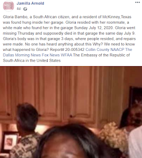 Black Lady Found Dead In Her White Roommate's Garage