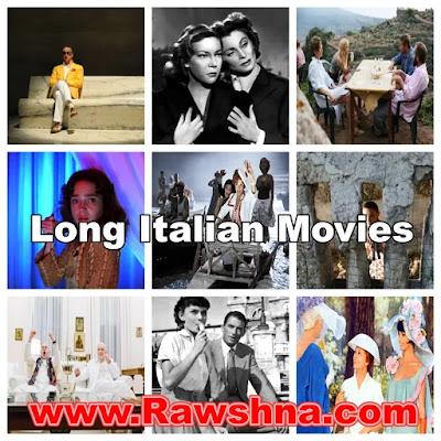 افضل افلام ايطاليه طويله على الاطلاق