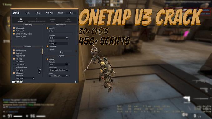 Onetap Crack v3 CFG's, DLL, Javascripts  |  Onetap CFG and JV leaks | 06/05/2021 Working OTC DLL