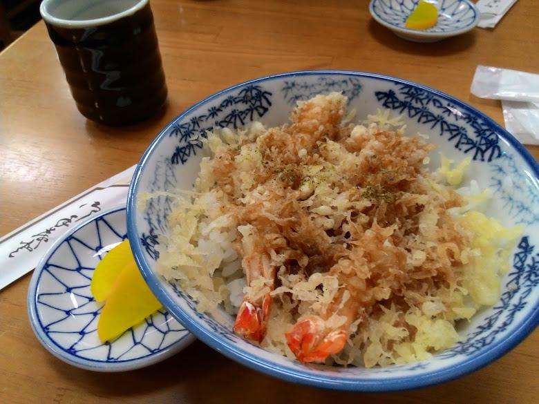午餐炸蝦丼