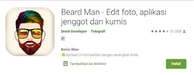 Aplikasi Edit Rambut Android Terbaik