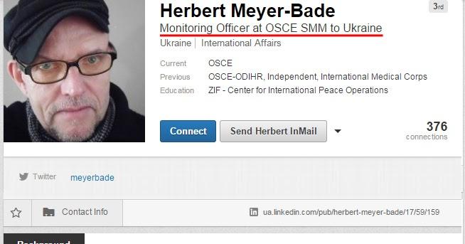 Putin@war: OSCE_SMM observer is tweeting STRAIGHTOUT Russian Propaganda