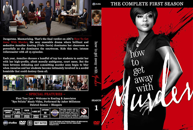 How To Get Away With Murder Season 1 DVD Cover