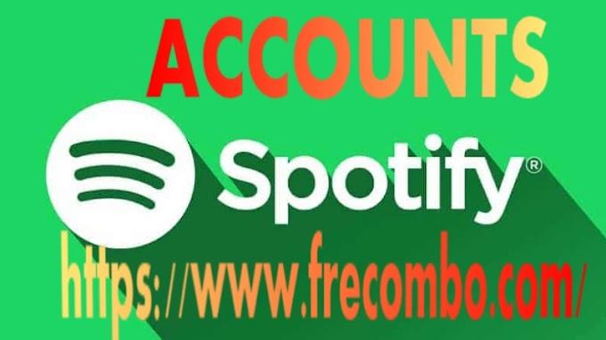 Accounts Spotify
