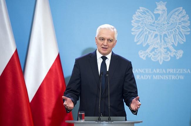 Minister Nauki i Szkolnictwa Wyższego Jarosław Gowin - fot. P. Tracz KPRM Public domain