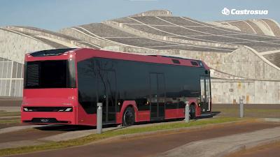 Autobús Nelec. Imagen: Castrosua.
