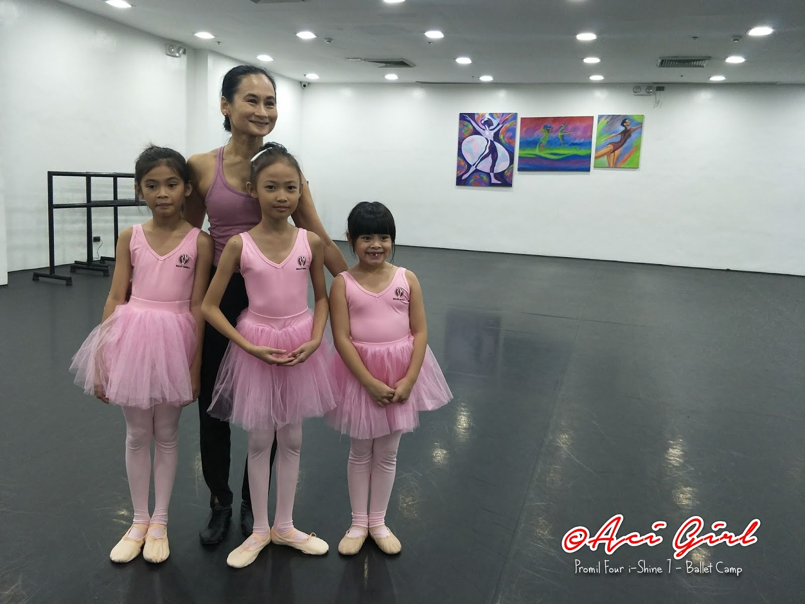 Ballet Camp i-Shiner with Ms. Liza Macuja - Elizalde