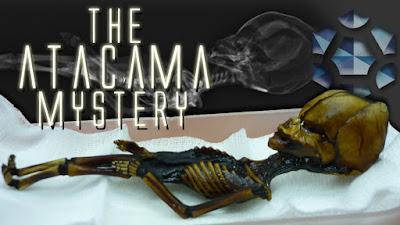 Misteri Fosil Alien Humanoid Atacama Chile