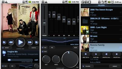 Aplicación reproductor multimedia PowerAmp