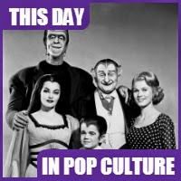 """The Munsters"" debuted on television on September 24, 1964."