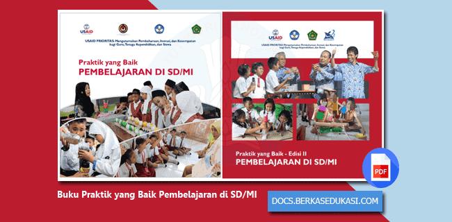 Buku Praktik yang Baik Pembelajaran di SD-MI
