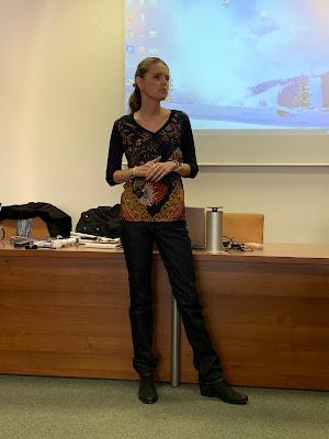Linda přednáší na ZČU