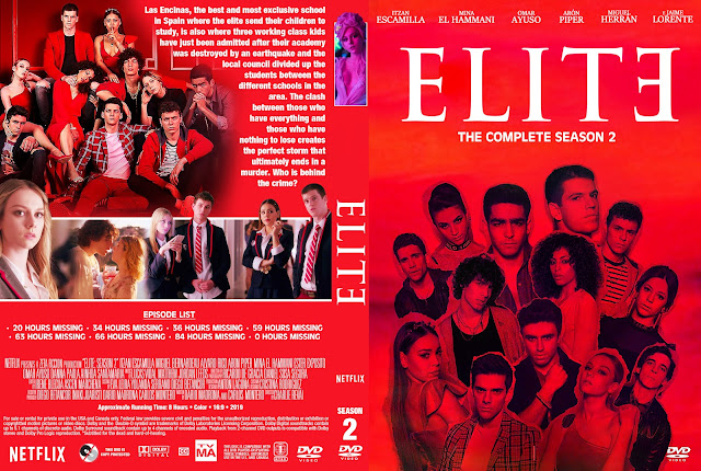 Elite Season 2 DVD Cover