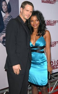 Keesha Sharp and her hot hubby...