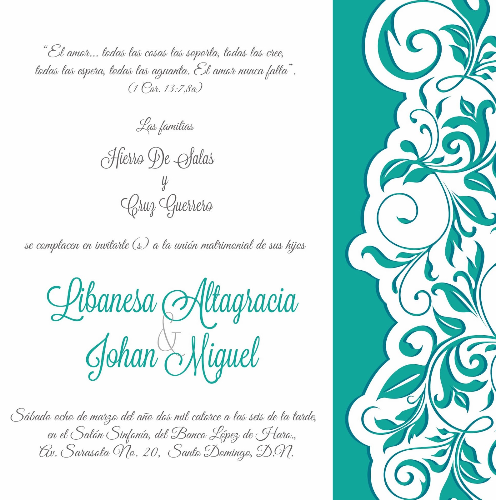 Great Idea Soluciones Graficas Tarjetas Invitaciones