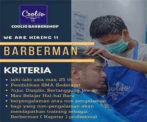 Lowongan Kerja Posisi BARBERMAN di COOLIO BARBERSHOP