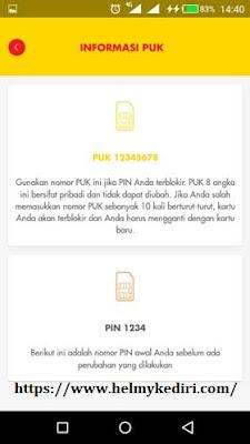 Cara mengetahui kode PUK Indosat Ooredo