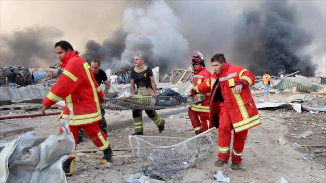 Irán envía ayuda humanitaria de nueve toneladas a El Líbano